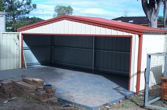 Steel Buildings- Garages and Workshops